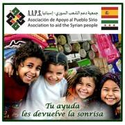 2 contenedores de ayuda para los refugiados Sirios